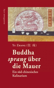 BUCH COVER Budda sprang ueber die Mauer Cover