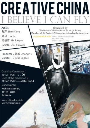 Plakat Creative-China---I-believe-i-can-fly(1-0-4